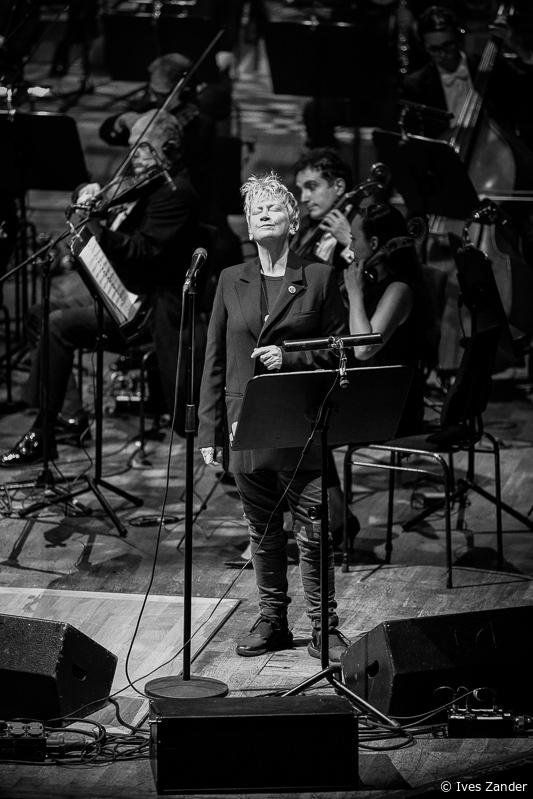 Anne Clark, Gewandhaus Leipzig © Ives Zander