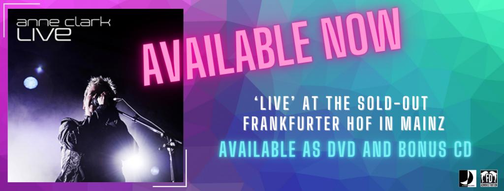 Anne Clark Live DVD